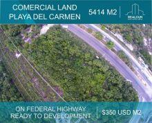 Terreno en venta en playa del carmen riviera maya