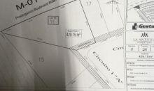 """La antigua cementera terrenos: 429 y 396 metros. """"zona alta"""""""